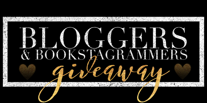Bloggers & Bookstagrammers Giveaway!