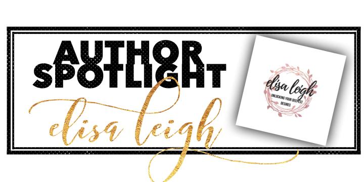 Author Spotlight: ElisaLeigh